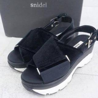 snidel - スニーカー サンダル