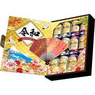 【ギフト限定/お歳暮】アサヒスーパードライジャパンスペシャル缶ビールセット令和デ(ビール)