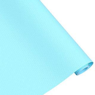 食器棚シート 調理台保護シート シェルフライナー EVA製 ブルー(キッチン収納)
