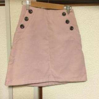 イング(INGNI)のピンク スカート(ひざ丈スカート)