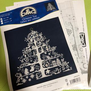 フェリシモ(FELISSIMO)のフェリシモ DMC Christmas tree 刺繍図案(型紙/パターン)