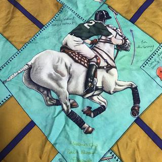 Hermes - HERMES エルメス シルクスカーフ タグあり 馬 競馬
