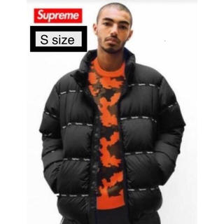 Supreme - 最終値下げ 美品!Supreme Logo tape puffy jacket
