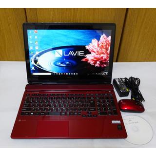 エヌイーシー(NEC)のCore i7&SSD NEC LAVIE Win10 ブルーレイ タッチパネル(ノートPC)