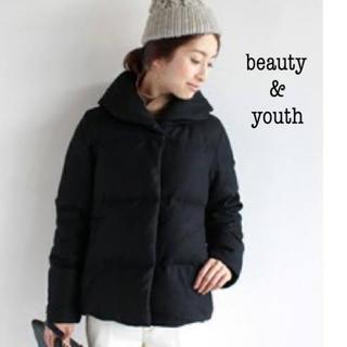 BEAUTY&YOUTH UNITED ARROWS - 【beauty&youth】ウールショートダウン ブラック
