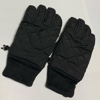 ユニクロ(UNIQLO)のユニクロ☆ヒートテックキルティンググローブ【M】(手袋)