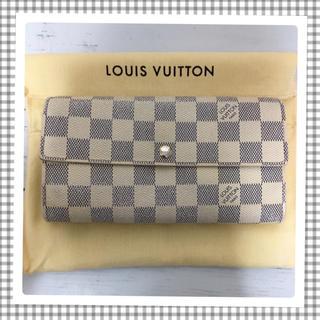 LOUIS VUITTON - LOUISVUITTON✿アズール長財布              🌸美品🌸
