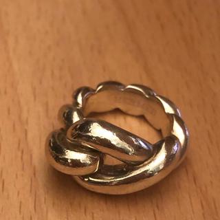 エルメス(Hermes)のエルメス    HERMES ツイストリング 指輪(リング(指輪))