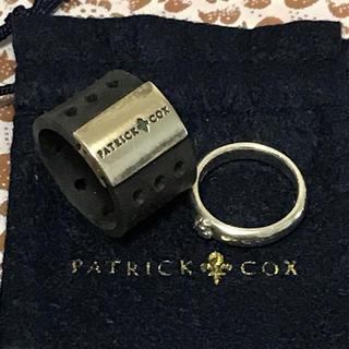 パトリックコックス(PATRICK COX)のパトリックコックス  リング2個セット♡お値下げ(リング(指輪))