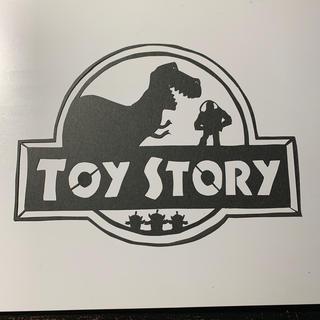 ディズニー(Disney)のトイストーリー 切り絵 (アート/写真)