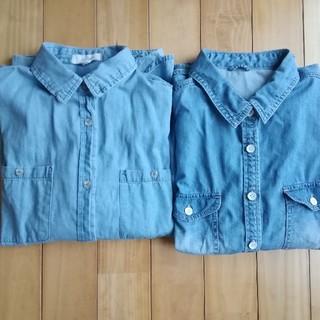 しまむら - ダンガリーシャツLサイズ2枚