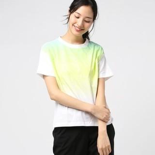 アディダス(adidas)のグラデーションTシャツ イエロー(Tシャツ(半袖/袖なし))