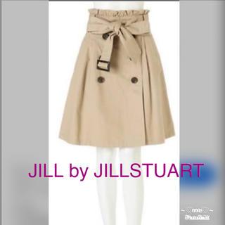 ジルバイジルスチュアート(JILL by JILLSTUART)のジルバイジルスチュアート❤︎トレンチスカート(ひざ丈スカート)
