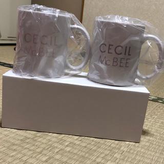 セシルマクビー(CECIL McBEE)のセシルマクビーマグカップ(グラス/カップ)