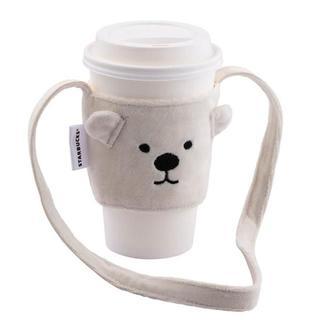 Starbucks Coffee - 予約#【台湾 スターバックス】白熊ドリンクホルダー