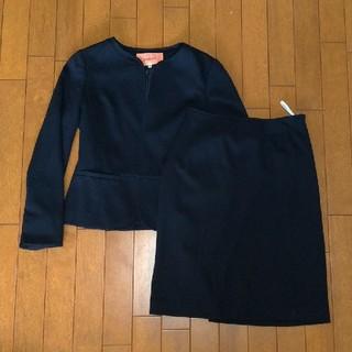 スーナウーナ(SunaUna)のSunauna冬用スーツ上下セット紺色36号(セットアップ)
