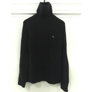 バーバリーブラックレーベル(BURBERRY BLACK LABEL)のバーバリーブラックレーベルサイズ2グレーセーター(ニット/セーター)