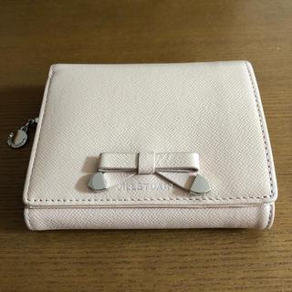 ジルスチュアートニューヨーク(JILLSTUART NEWYORK)のジルスチュアート シャイニング 二つ折り財布 ピンク(財布)