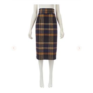 COCO DEAL - COCO DEAL ウール混チェックタイトスカート