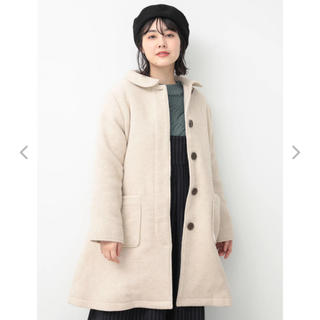 サマンサモスモス(SM2)のSM2 カバーリングヤーン衿付コート(ロングコート)