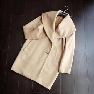 ANAYI - ■アナイ■ 36 ショール襟 キャメルベージュ系 コート ANAYI