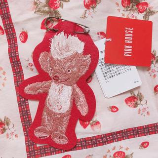 PINK HOUSE - ピンクハウス *くま刺繍ワッペンブローチ 新品 未使用