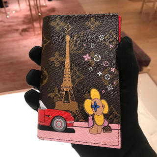 LOUIS VUITTON - 新品未使用未開封 Louis Vuitton パスポートケース クリスマス限定