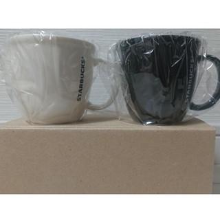 Starbucks Coffee - スターバックス デミタスカップ 白・黒 セット 非売品