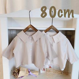 セーラー襟 シャツ 80cm