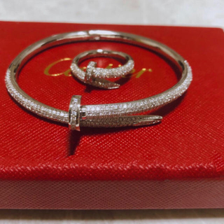 Cartier - 本家仕様 釘ブレスレット&釘リング ユニセックス