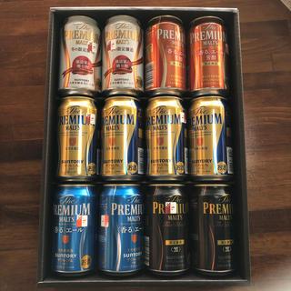 サントリー(サントリー)のザ・プレミアム・モルツ 冬の限定セット 華 12本セット(ビール)