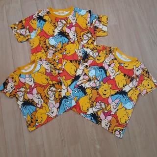 Disney - ディズニーTシャツ 3枚セット 親子コーデ