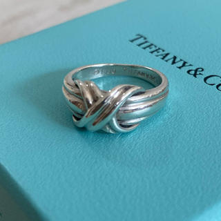 Tiffany & Co. - Tiffany ティファニー シルバーリング シグネチャーリング 10号