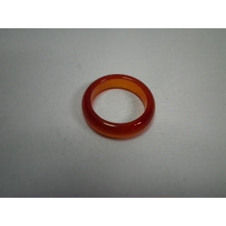 L2-7●パワーストーン●天然石メノウ指輪●瑪瑙 めのう●15号リング●(リング(指輪))