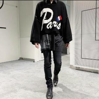 【即発送】Cruffin Paris Knit Sweater Black