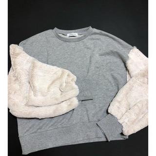 ウィゴー(WEGO)のWEGO袖切り替えスウェット(トレーナー/スウェット)