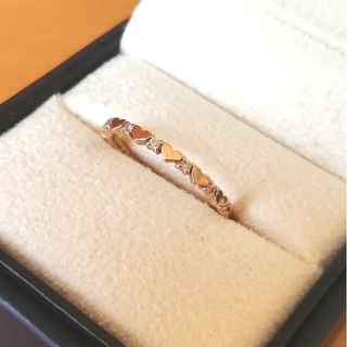 サマンサティアラ(Samantha Tiara)のSamantha Tiara K18ピンクゴールドダイヤモンドリング(リング(指輪))