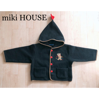 mikihouse - 美品 キッズ コート フード付き アウター☆miki HOUSE
