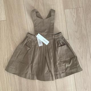 キャラメルベビー&チャイルド(Caramel baby&child )のcaramel エプロンドレス 新品 スカート ワンピース ジャンパースカート(ワンピース)