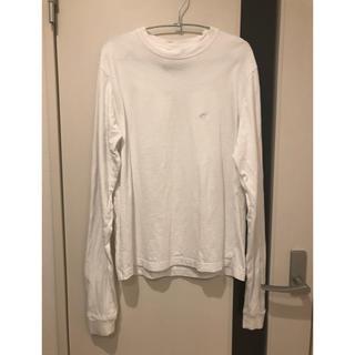 チャンピオン(Champion)の【EMODA×Champion】LONG SLEEVEロンT ホワイト(Tシャツ(長袖/七分))