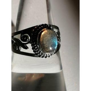 「自由の象徴」 天然石 パワーストーン リング ラブラドライド(リング(指輪))