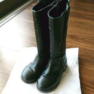 ファミリア(familiar)のポプキンズ ブーツ 16.5 17 シューズ 靴 キッズ ポンプキンズ 女の子(ブーツ)