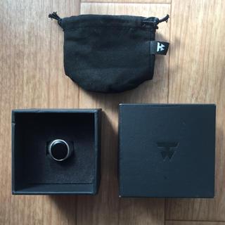 Ron Herman - TOMWOOD ブラック オニキス オーバルリング シルバー 925 サイズ54