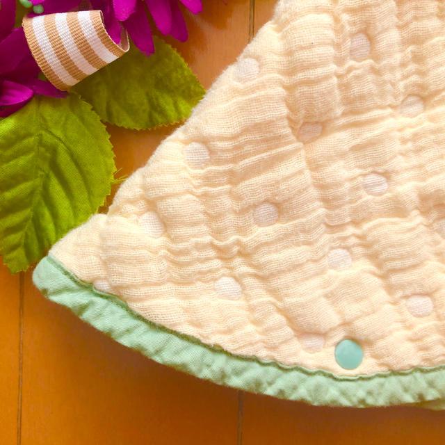 quatre saisons(キャトルセゾン)のキャトルセゾン❣️ ポンチョ ケープ 防寒 アウター キッズ/ベビー/マタニティのベビー服(~85cm)(その他)の商品写真