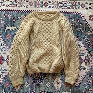 ジョンリンクス(jonnlynx)のvintage cable knit  aran sweater  アランニット(ニット/セーター)