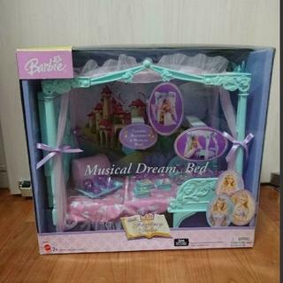 バービー(Barbie)の絶版・Barbie Rapunzel ☆プリンセスベッド・おまけ付き(ぬいぐるみ)