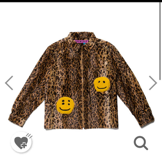 Supreme - human made cpfm LEOPARD ZIP WORK SHIRT
