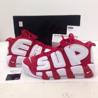 Supreme - Supreme Nike Air More Uptempo