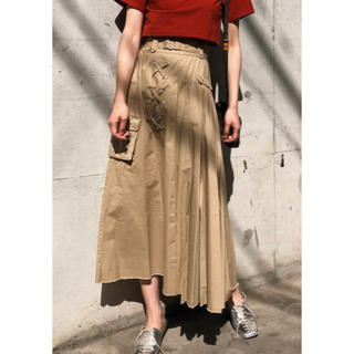 Ameri VINTAGE - AMERI PLEATS MILITARY SKIRT