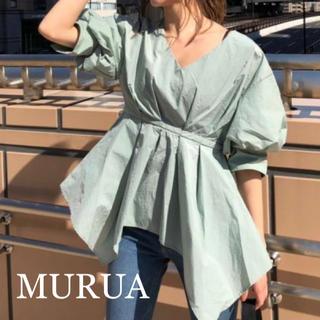 MURUA - MURUA ナイロンイレヘムチュニック